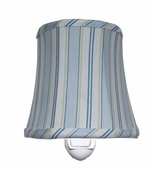 Candystripe Blue Night Light