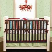 Carey 4-Piece Crib Bedding Set