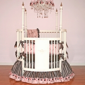 Carmella Round Crib Bedding