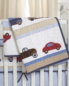 Cars & Trucks Crib Quilt