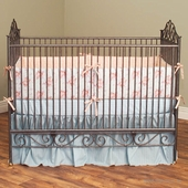 Casablanca Crib in Pewter