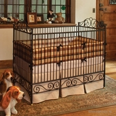 Casablanca Crib in Slate