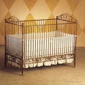 Casablanca Crib in Venetian Gold