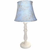 Central Park Dusty Blue Medium Urn Lamp