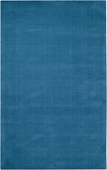 Cerulean Blue Mystique Hand-Crafted Rug