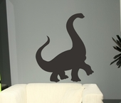 Chalkboard Dinosaur Wall Decal