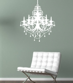 Chandelier Custom Wall Decal