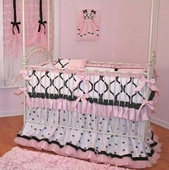 Chanel Crib Bedding