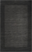 Charcoal Border Mystique Hand-Crafted Rug