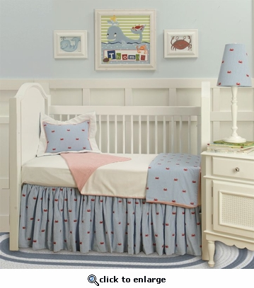 Charleston Toddler Coverlet & Pillow
