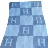 Checkered Personalized Blanket