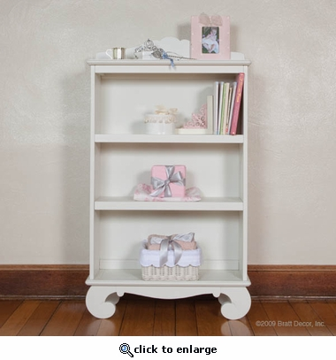 Chelsea Bookcase in White