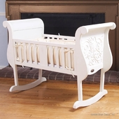 Chelsea Cradle in White