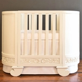 Chelsea Darling Crib to Cradle Oval Crib