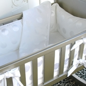 Chelsea Dot Cradle Bedding