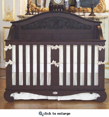 Chelsea Lifetime Crib in Antique Espresso