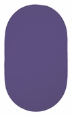 Chenille Creations Braided Rug - Bright Purple