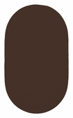 Chenille Creations Braided Rug - Chocolate