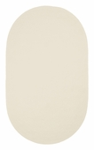 Chenille Creations Braided Rug - Light Beige