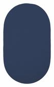 Chenille Creations Braided Rug - Navy
