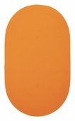 Chenille Creations Braided Rug - Tangerine