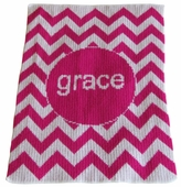 Chevron Personalized Blanket