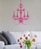 Chic Chandelier Custom Wall Decal