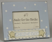 Child of God Blue Picture Frame