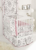 China Doll 3-Piece Crib Bedding Set