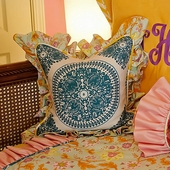 Chloe Medallion Throw Pillow