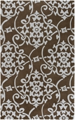 Chocolate Cosmopolitan Hand-Tufted Rug