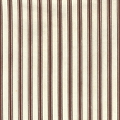 Chocolate Ticking Fabric