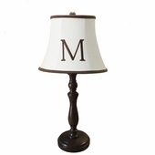 Classic Matelasse Monogram Medium Hood Lamp