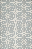 Cloud Blue Origami Fallon Hand-Woven Rug