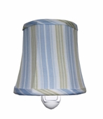 Cottage Stripe Blue Night Light