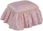 Cotton Candy Child Toybox Ottoman
