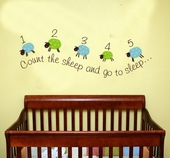 Counting Sheep Custom Wall Decal