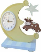Cow over the Moon Table Clock