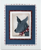 Coyote Custom Framed Giclee Print