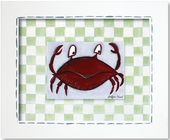 Crab Custom Framed Giclee Print