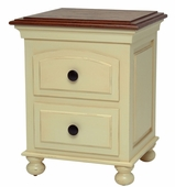 Curved Drawer Night Stand