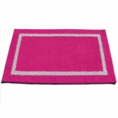 Custom Rectangle Double Border Rug