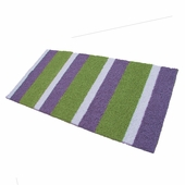 Custom Rectangle Striped Rug