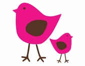 Cutie Birds Custom Wall Decal