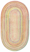Cutting Garden Braided Rug - Light Yellow