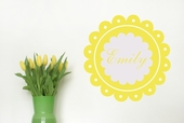 Dainty Custom Personalized Wall Decal
