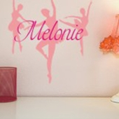Dance Custom Personalized Wall Decal