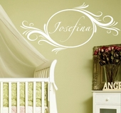 Delightful Elements Custom Personalized Wall Decal