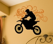 Dirt Bike Custom Wall Decal