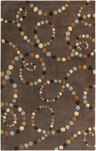 Dot Swirls Cosmopolitan Hand-Tufted Rug